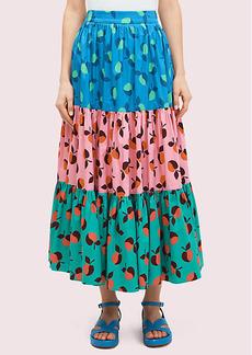 Kate Spade Colorblock Apple Skirt