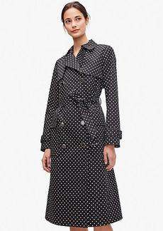 Kate Spade Dot Trench Coat