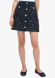 Kate Spade Embellished Tweed Skirt