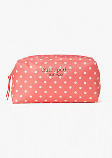 Kate Spade Everything Puffy Dots Medium Cosmetic Case