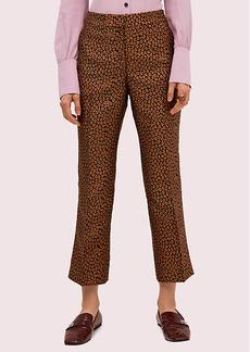 Kate Spade Flora Leopard Jacquard Pant