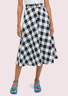 Kate Spade Gingham Skirt