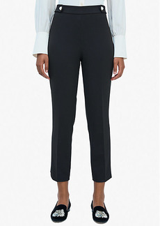 Kate Spade Jewel-Button Crepe Pant
