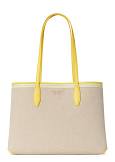 kate spade new york all day large rattan tote