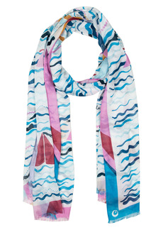 kate spade new york boats oblong scarf