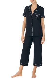 kate spade new york capri short sleeve pajamas