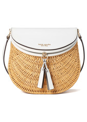 kate spade new york catch medium wicker crossbody bag