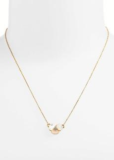 kate spade new york disco pansy pendant necklace