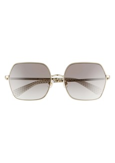 kate spade new york eloy 59mm polarized sunglasses