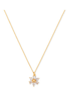 kate spade new york first bloom mini pendant necklace