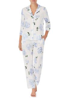 kate spade new york floral jersey pajamas
