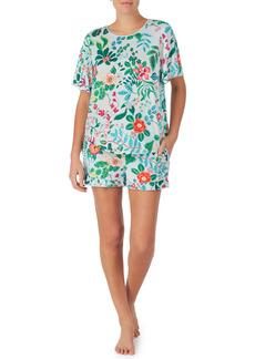 kate spade new york floral print short pajamas