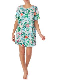 kate spade new york floral print sleep shirt