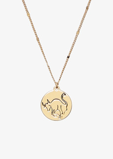 kate spade new york in the stars zodiac pendant necklace