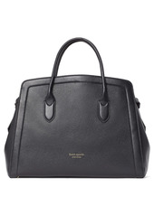 kate spade new york knott xl leather satchel