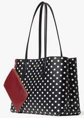 kate spade new york lady dot all day large tote