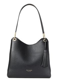 kate spade new york large loop leather shoulder bag