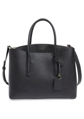 kate spade new york large margaux leather satchel