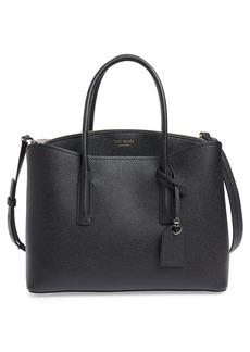 kate spade new york large margaux leather satchel