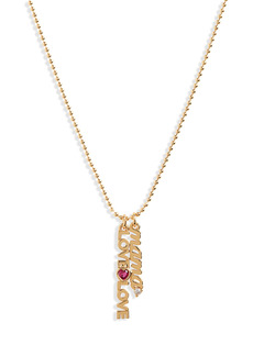 kate spade new york love mama charm pendant necklace