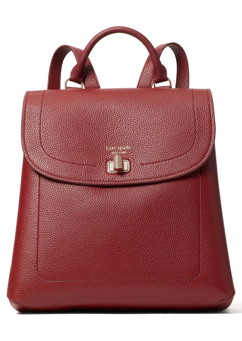 kate spade new york medium essential leather backpack
