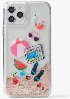Kate Spade New York Pool Party Liquid Glitter Phone 11 Pro Case