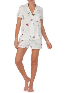 kate spade new york print short pajamas