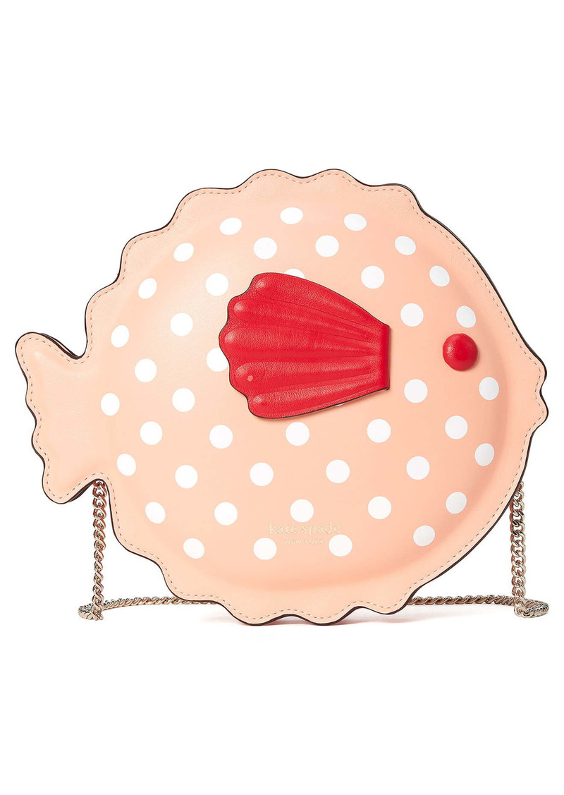 kate spade new york puffy pufferfish crossbody bag