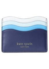 kate spade new york puffy wave card holder