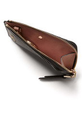 kate spade new york roulette leather zip cardholder