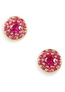 kate spade new york something sparkly pavé stud earrings