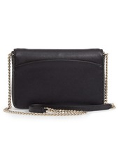 kate spade new york spencer leather wallet on a chain
