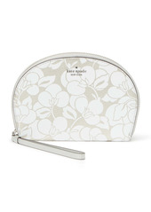 Kate Spade larchmont avenue breezy floral half moon wristlet