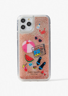 Kate Spade Pool Party Liquid Glitter Iphone 11 Pro Case