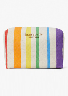 Kate Spade Rainbow Large Cosmetic Case