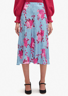 Kate Spade Regal Rose Jacquard Skirt