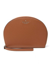 Kate Spade rima leather round wristlet pouch
