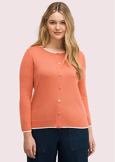 Kate Spade Signature Button Cardigan