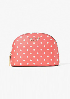 Kate Spade Spencer Dots Small Dome Cosmetic Case