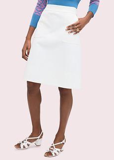 Kate Spade Twill Pocket Skirt