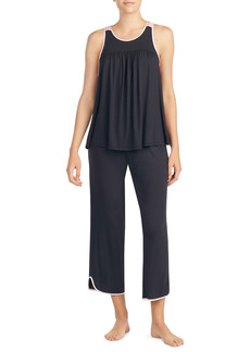 Women's Kate Spade New York Crop Jersey Pajamas