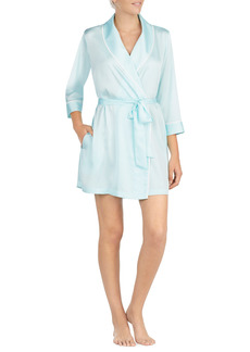 Women's Kate Spade New York Happily Ever After Charmeuse Short Robe