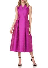 Kay Unger New York Kay Unger Allegra Jacquard Dress