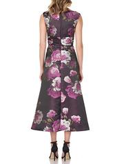 Kay Unger New York Kay Unger Vivienne Floral Dress