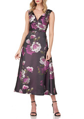 Kay Unger New York Vivienne Floral Dress