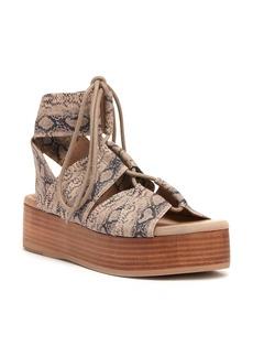 Kelsi Dagger Brooklyn Decatur Platform Lace-Up Sandal (Women)