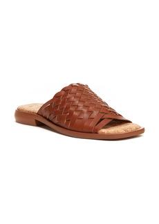 Kelsi Dagger Brooklyn Tide Woven Leather Slide Sandal (Women)