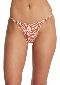 Kendall + Kylie Cheeky Animal Print Bikini Bottom