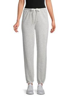 Kendall + Kylie Drawstring Cotton-Blend Sweatpants
