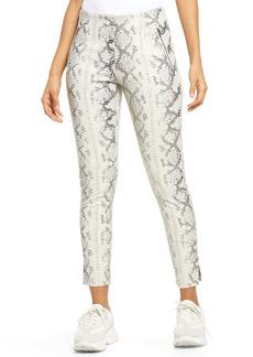 KENDALL + KYLIE High Waist Snakeskin Print Pants